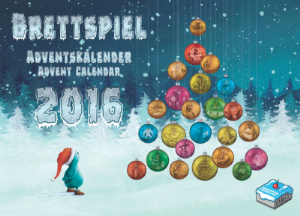 Brettspiel Adventskalender 2016 [ONLY THE PROMOS]